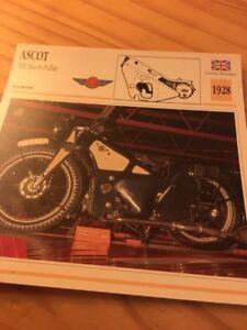 Ascot-500-Pullin-de-Ascot-1928-Tarjeta-motorrad-Coleccion-Atlas
