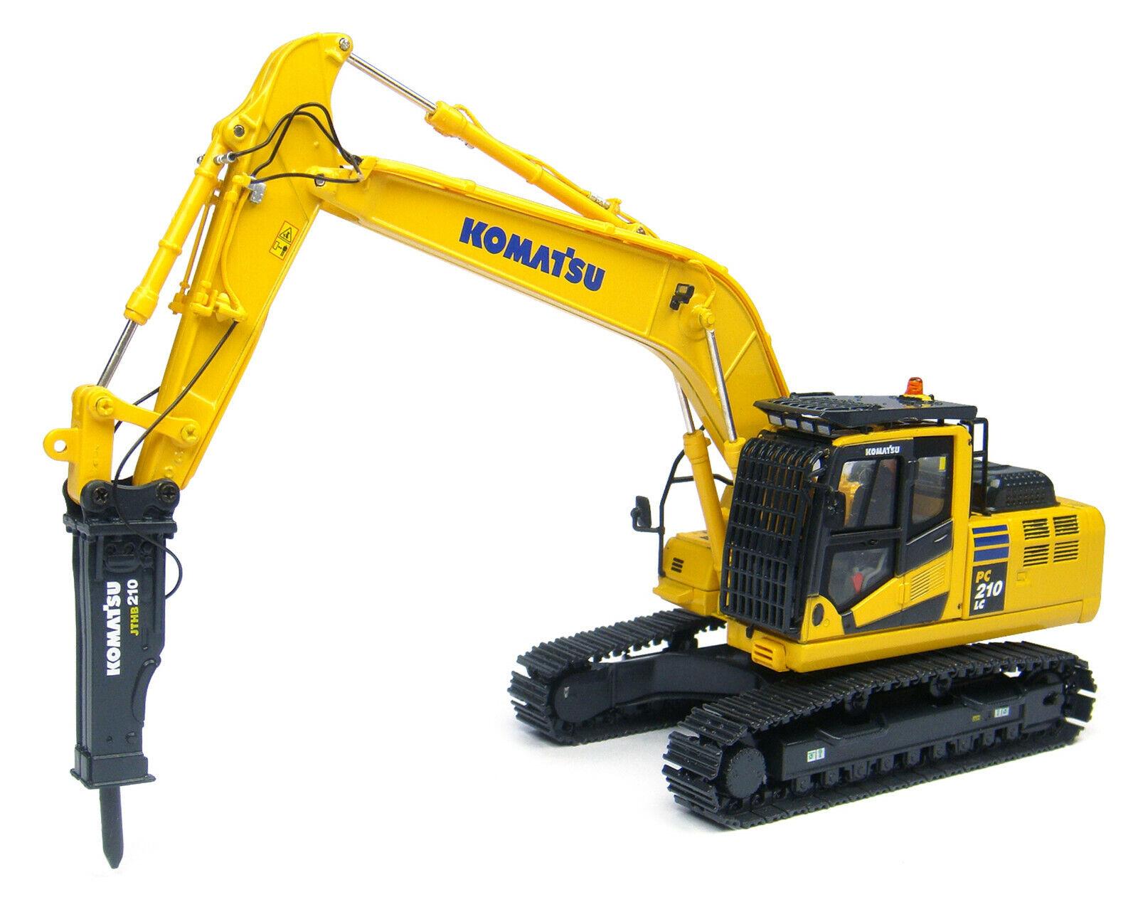 Excavadora Komatsu PC210LC-10 con interruptor hidráulico 1 50 UH8096 Universal Hobbies