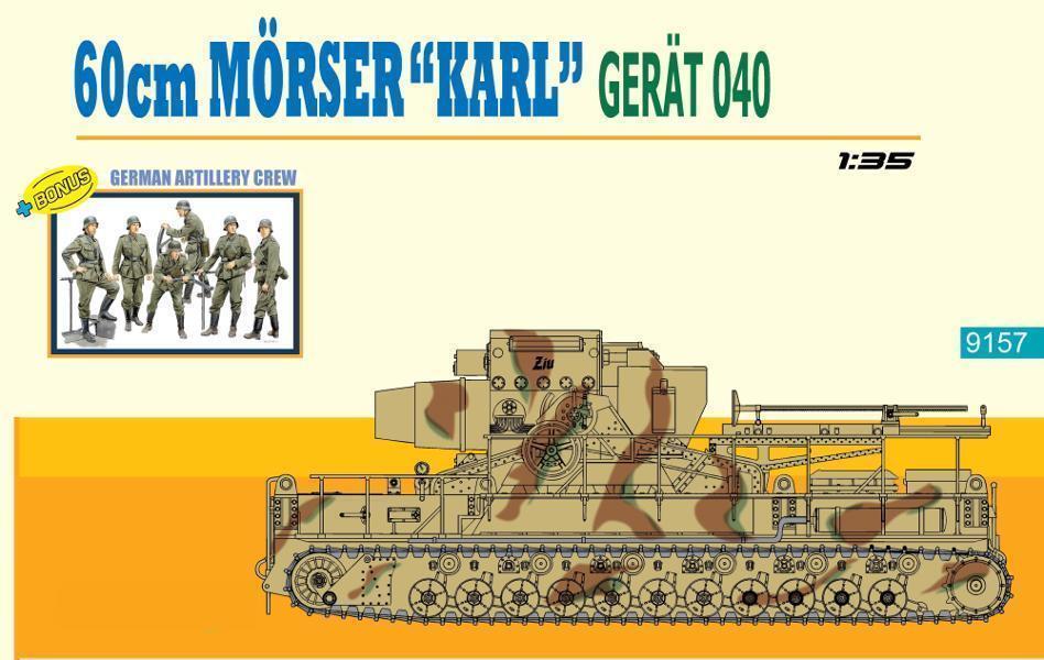 Dragon 9157  60cm Mörser Karl - Gerät 040  1 35  | Um Sowohl Die Qualität Der Zähigkeit Und Härte