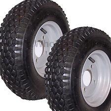 2 4 80 8 Rubber Master Stud Tires Tube Wheel Rim Gravely Garden