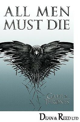 Game Of Thrones (All Men Must Die) Maxi Poster - 61cm x 91.5cm PP33362 - 568