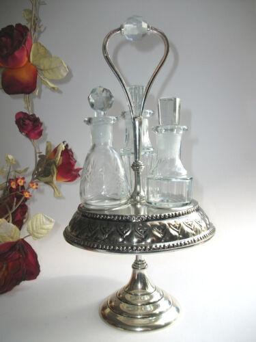 3 Parfumflakons Parfumflaschen mit Ständer Lisbeth Dahl Flakon shabby Vintage