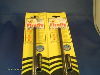NEW FIRESTIK FL3 3FT FIREFLY RED LIGHTWEIGHT CB HAM ANTENNA  FL-3 USA MADE!