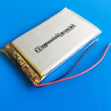 3.7v LiPo Battery 850mAh 383759 for PAD PDA MP3 GPS Camera Recorder Selfie stick
