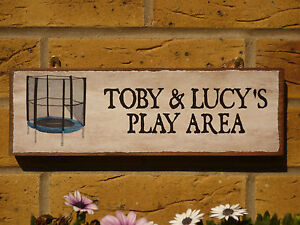 PERSONALISED-PLAY-AREA-TREEHOUSE-SIGN-FOOTBALL-SIGN-LEARNING-BLOCKS-TRAMPOLINE