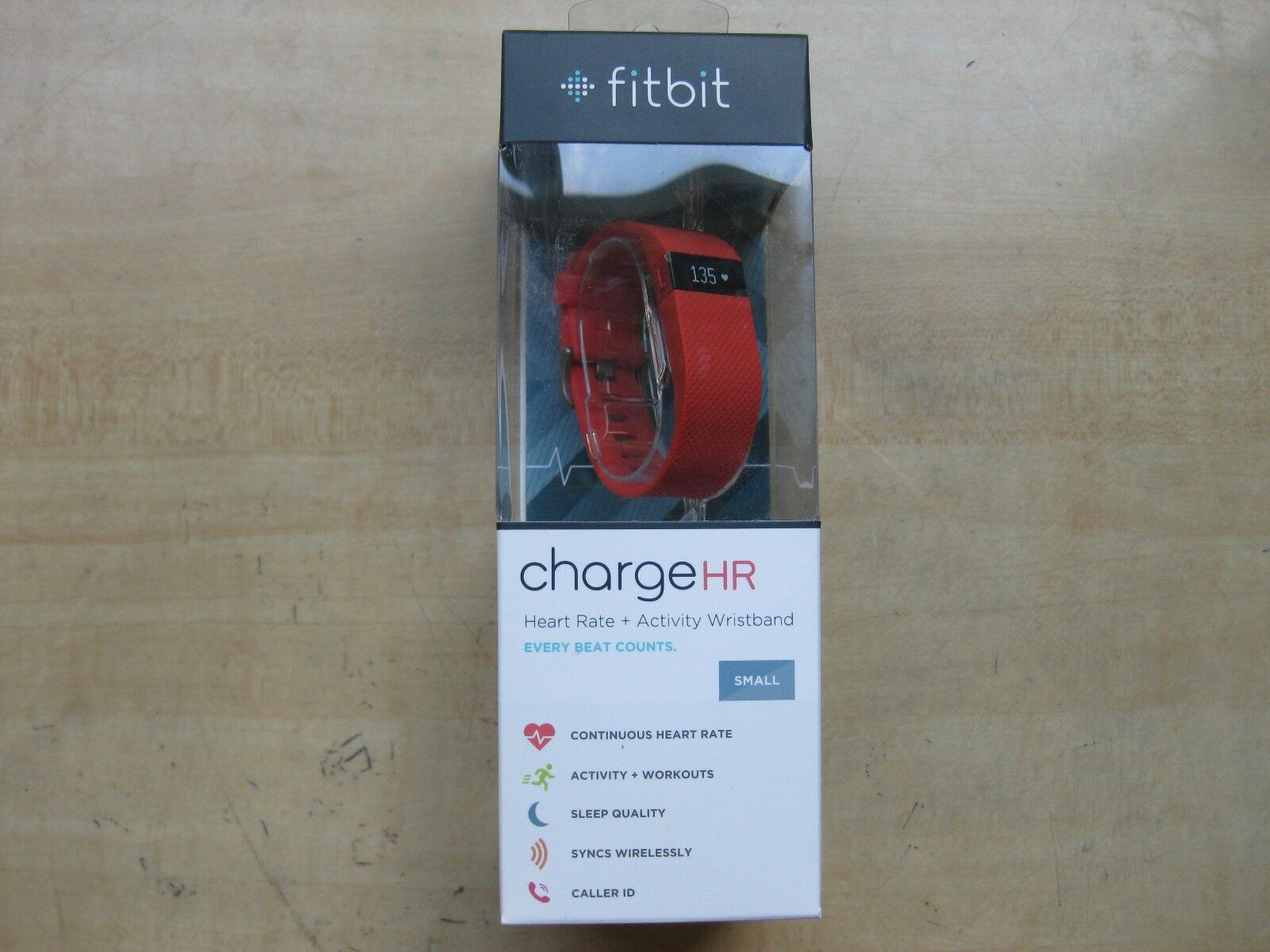 Fitbit Charge HR Wireless Activity Wristband  Tangerine, Small (5.4 - 6.2 in)