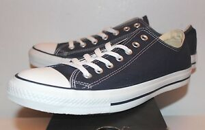 6f64c5ecdce Converse Chuck Taylor All Star Ox Low Navy Blue White Sneakers Men s ...