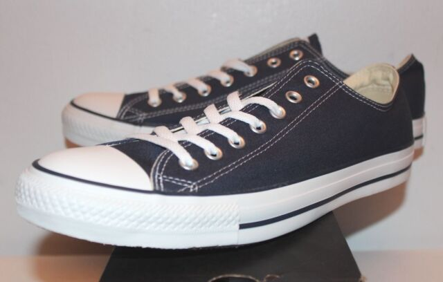 ec25f997e4 Converse Chuck Taylor All Star Ox Low Navy Blue White Sneakers Men's Size  7-13