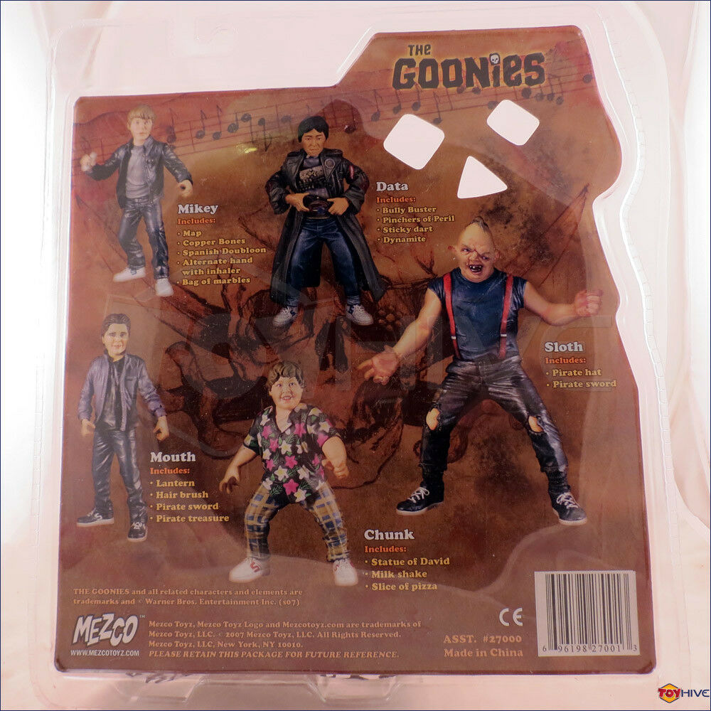 The Goonies action - Chunk 7-inch scale movie action Goonies figure made by Mezco Toys 2007 a25c36