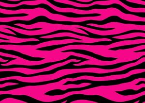 Cool-Pink-Zebra-Pattern-Poster-Print-Size-A4-A3-Wild-Animals-Poster-Gift-8470