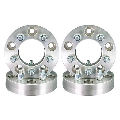 2X 5X5.5 Wheel Spacers Adapter 1//2X20  5X5.5 1.0 Jeep CJ5 CJ6 CJ7 5x139.7