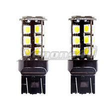 W21/5W 580 7443 DRL Daytime Running Lights 27 LED Wedge Bulbs
