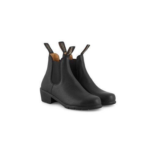 Blundstone 1671 Women's Sizing (Black Heeled Boot, Slip Resistant, Premium Lthr)