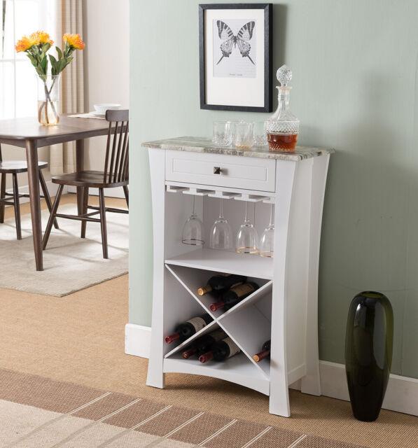 White Wooden Wine Rack Storage Cabinet, Wine Rack Cabinet