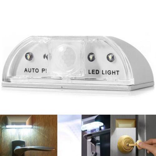 1.5V Auto PIR Sensor LED Licht Türschloss Nachtlicht Nachtlampe Beleuchtung DE