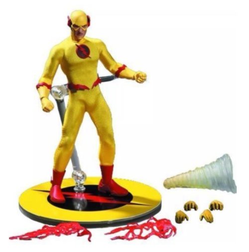 Dc mezco px previews exklusive zoom reverse flash  12 - skala action - figur