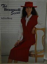 Bramwell Scene by Eileen Metcalf- Knitting Machine Book 14 Patterns - M691