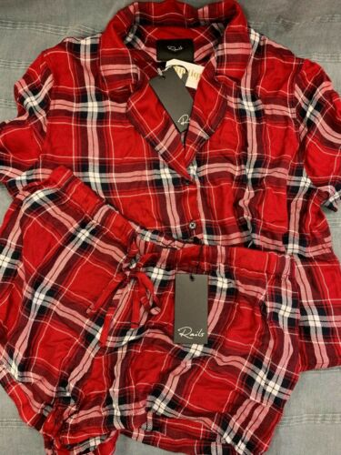 Short Women/'s XS Brand New Rails Pajama Set