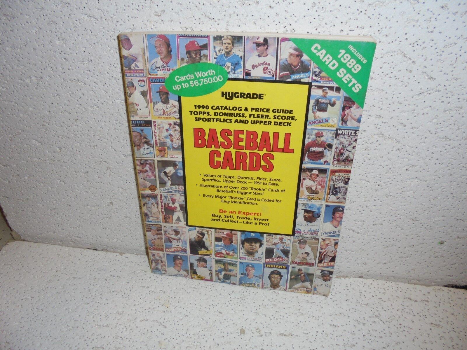 Vintage Hygrade Baseball Card Catalog Price Guide Paperback Book