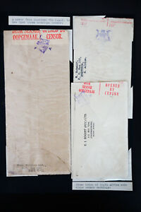 South-Africa-3x-Stamped-Censored-Covers