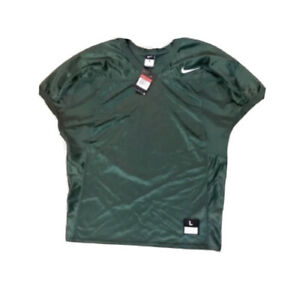 Nike Green Velocity 2.0 Practice Football Jersey Short Sleeve Size L