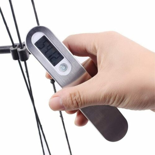 Durable Recurve Compound Bow Digital Scale110Lbs Archery Hunting Bow String Tool