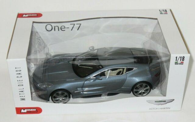Mondo Motors 1 18 1243 Aston Martin One 77 Silver For Sale Online Ebay