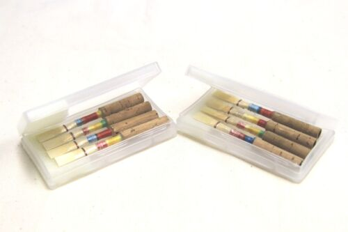 Medium hand discount high grade gift 8 Quality Oboe Reeds in Two Caes