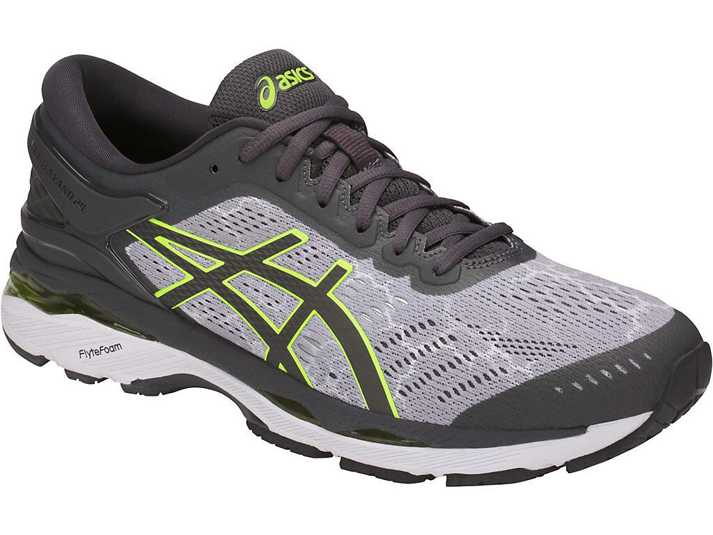[asics] GEL-KAYANO 24 LITE-SHOW Mid Grey Men's Running Shoes T8A4N.9695