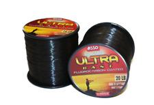 0.39 MM diameter 800 mt £12 1 X Spool of ASSO Ultra Cast Fluorocarbon 22lb