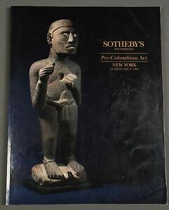 Sothebys Pre-Columbian Art NY May 1994