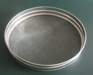 15 METAL GARDEN RIDDLE SIEVE 4mm MESH HOLE SIZE COMPOST SOIL