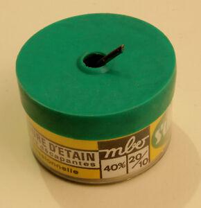 Une Bobine De 100 Grammes Soudure Etain-plomb Diametre 2,0mm Ekwmzkaf-07155213-556260229