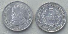Guinea 5 Sylis 1971 p45 unz.