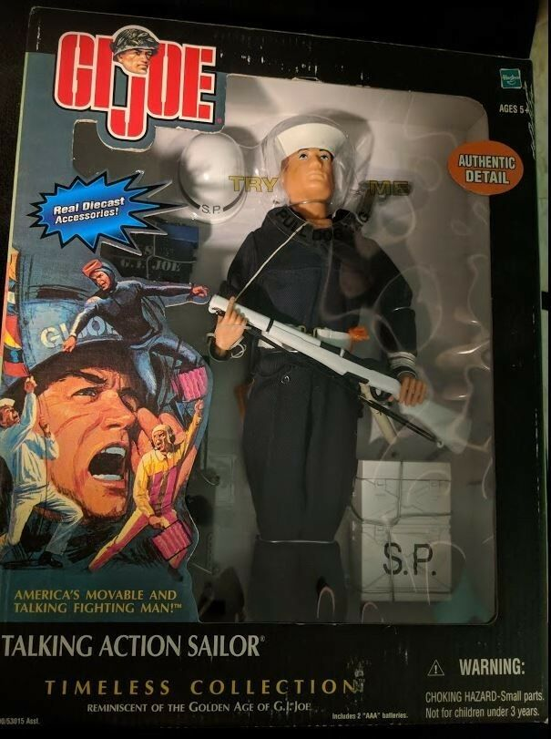Timeless Collection Talking GI JOE Action Sailor New Unopened
