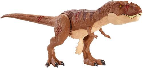 Jurassic World Battle Damage Roarin/' Super Colossal Tyrannosaurus Rex Figure