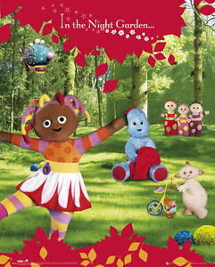 A3//A4 A MUSICAL JOURNEY POSTER # 26 IN THE NIGHT GARDEN CHILDRENS TV SERIES