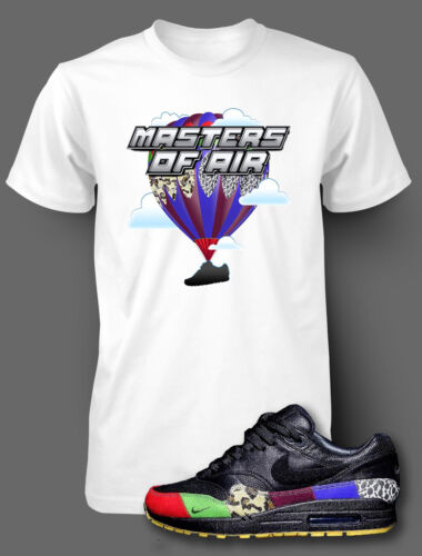 T Shirt to Match AIR MAX 1 MASTERS OF AIR Shoe Pro Club Graphic White Tee SS