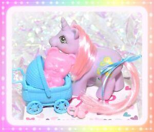 ❤️My Little Pony MLP G1 Vtg BABY SNOOKUMS Welliboot Drink 'n Wet BEAR BRUSH❤️