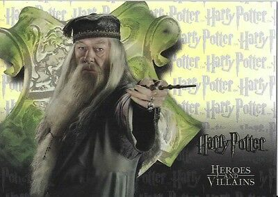 HARRY POTTER HEROES AND VILLIANS TRADING CARD - BOX TOPPER CARD - BT3