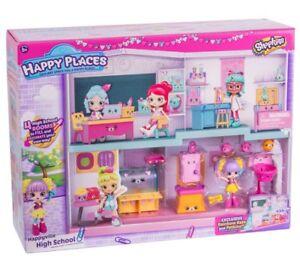 Shopkins-Happy-Places-Happyville-High-School-Set-Rainbow-Kate-Figure-amp-Petkins