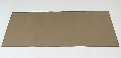 Goatskin Skiver Leather Veg Tan Olive Green A Size Panels 0.6-0.8mm Bookbinding