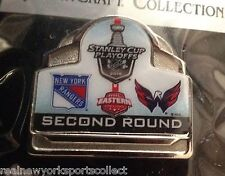 2015 NEW YORK RANGERS VS. WASHINGTON CAPITALS STANLEY CUP PLAYOFFS PIN