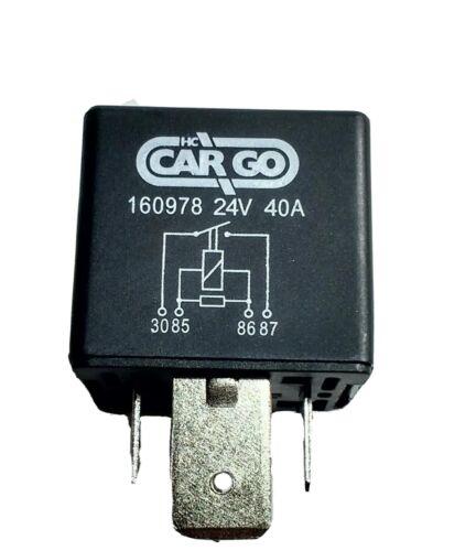 4 Pin High Performance 24 Volt Relay Heavy Duty Hd Switch 24V 40A ...