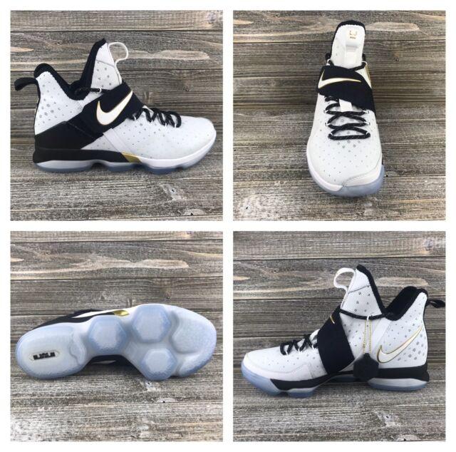 brand new 9eb06 97d92 Nike Lebron James XIV 14 BHM Basketball Shoes [860634-100] Men's Sz 11