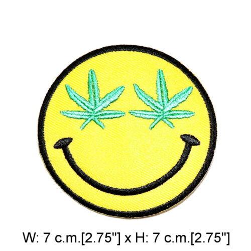 Smiley Jaune Visage Funny Emoji Blague Amusant Mignon À faire soi-même FASHION clothes iron on patch