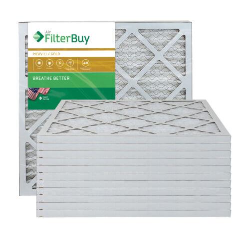 AFB Gold Merv 11 plissée CVC AC four Filtre à air Filterbuy 18x20x1