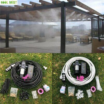 Sprinkler Irrigation Black 6-18 Meters Garden Electric Pump  Mist Spray System