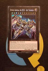 Divine-Arsenal-AA-ZEUS-Sky-Thunder-PHRA-EN045-Secret-Rare-1st-Ed-YuGiOh