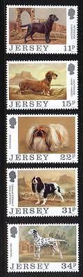 100635/ Jersey 1988 - Mi 430/4 - Hunde - ** - M€ 5,50